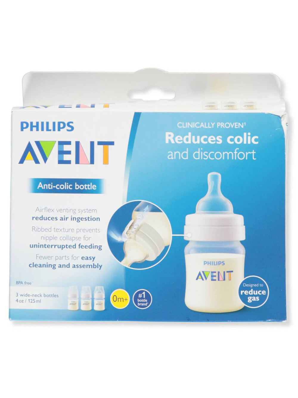 Wide-Neck Anti-Colic Bottle