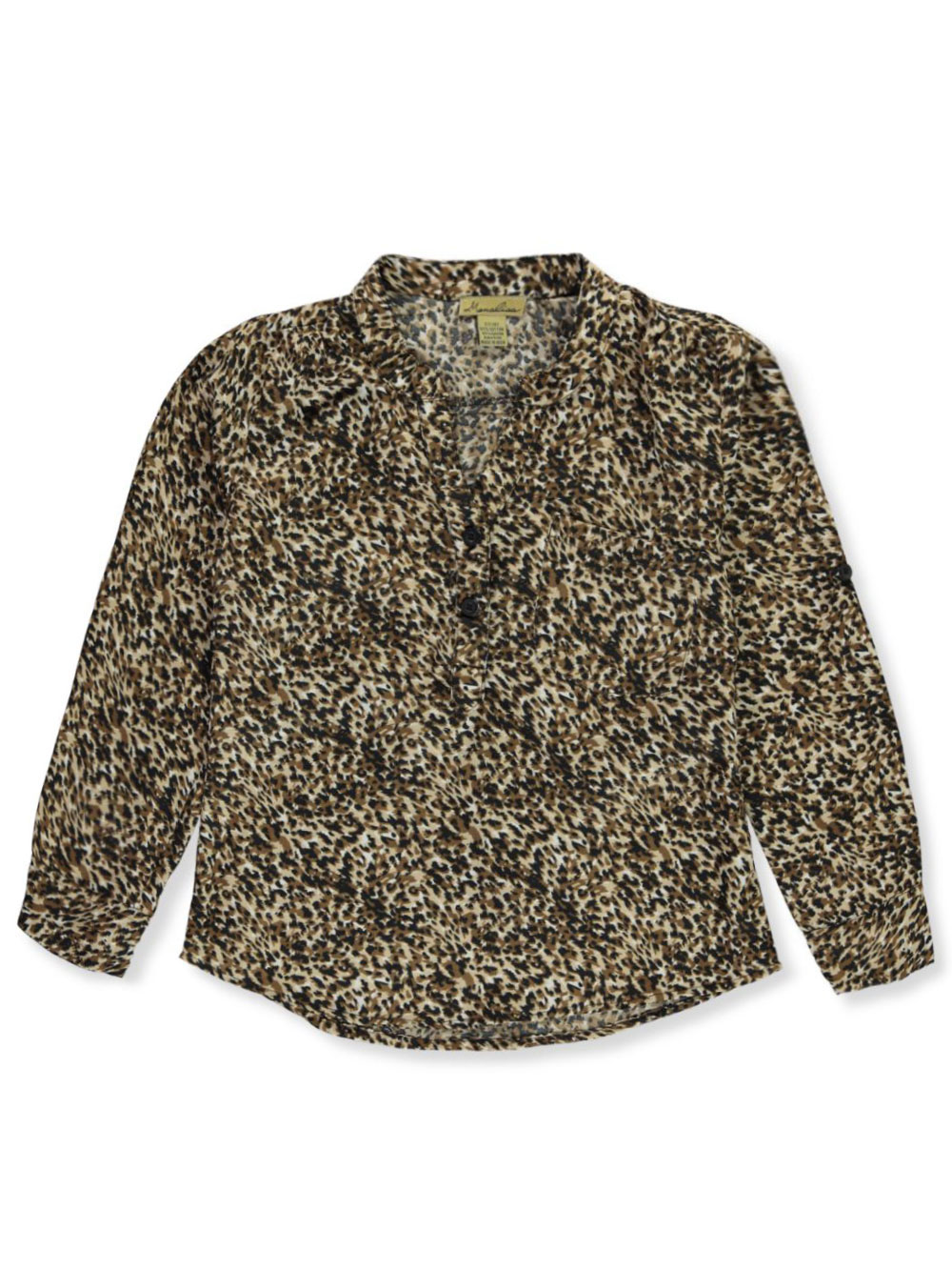 Mona Lisa Girls Button-Down Top