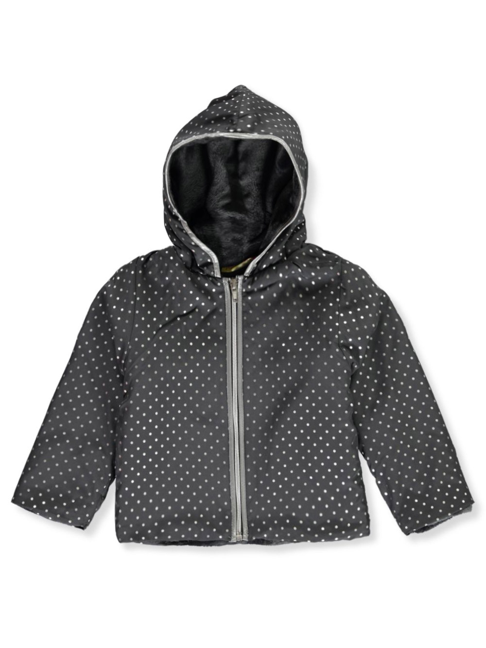 Girls Charcoal Jackets