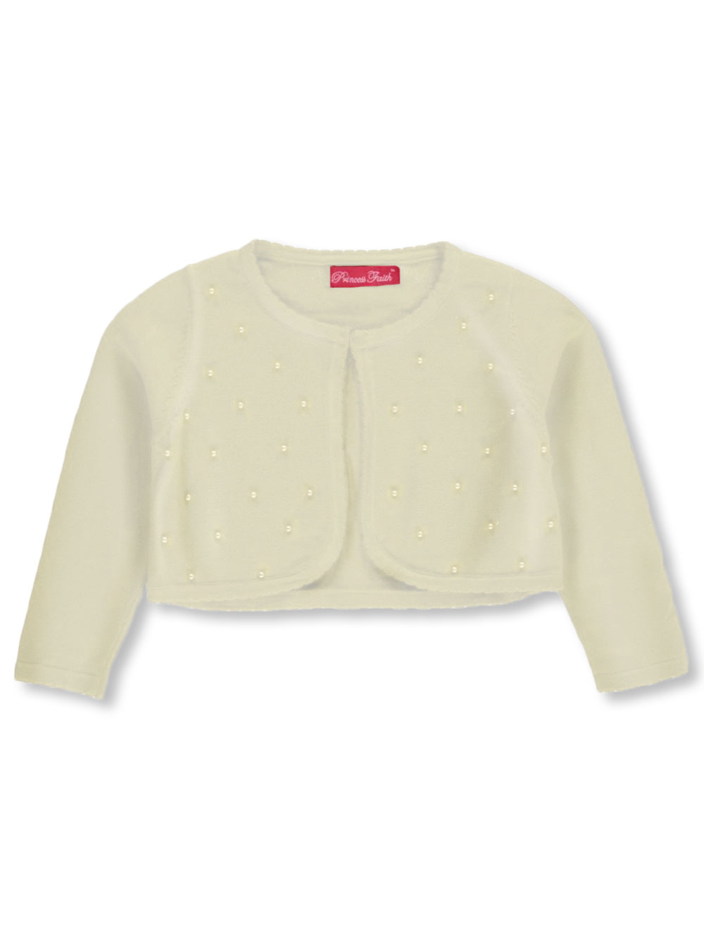 "Princess Faith ""Pearl Scattered"" Shrug Cardigan (Sizes 4 - 6X) at Sears.com"