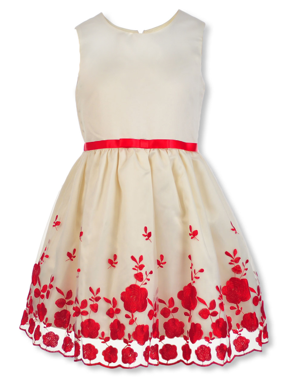 Girls Ivory Special Occasion Dresses