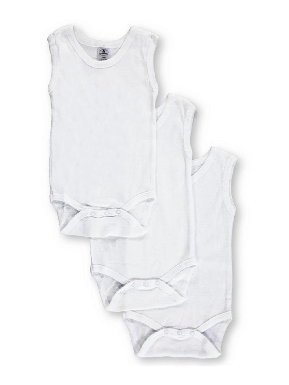 Girls White and Multicolor Bodysuits