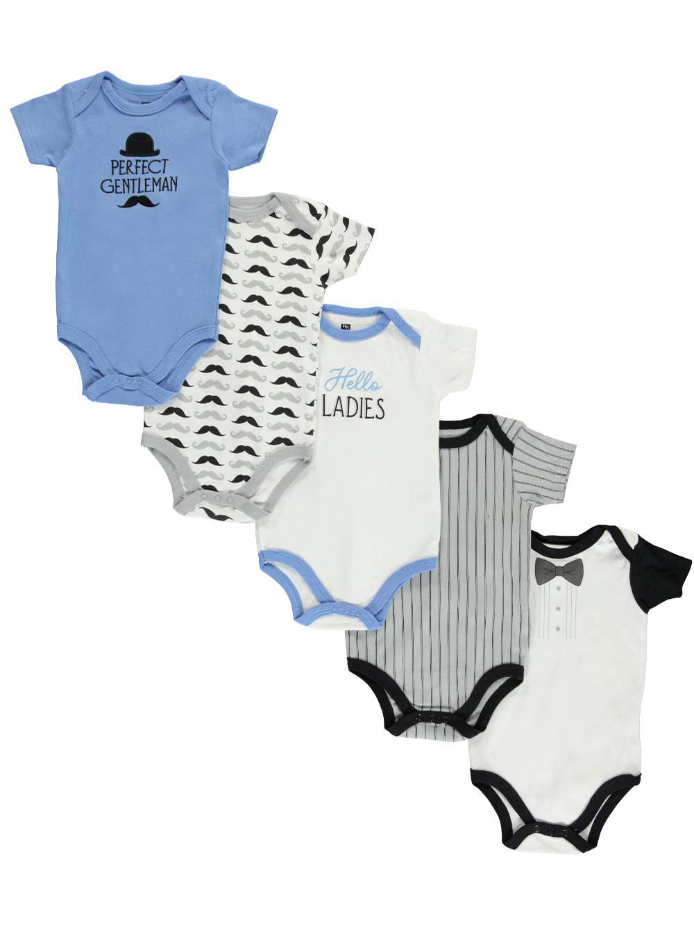 Bodysuits Hudson Baby 5-Pack