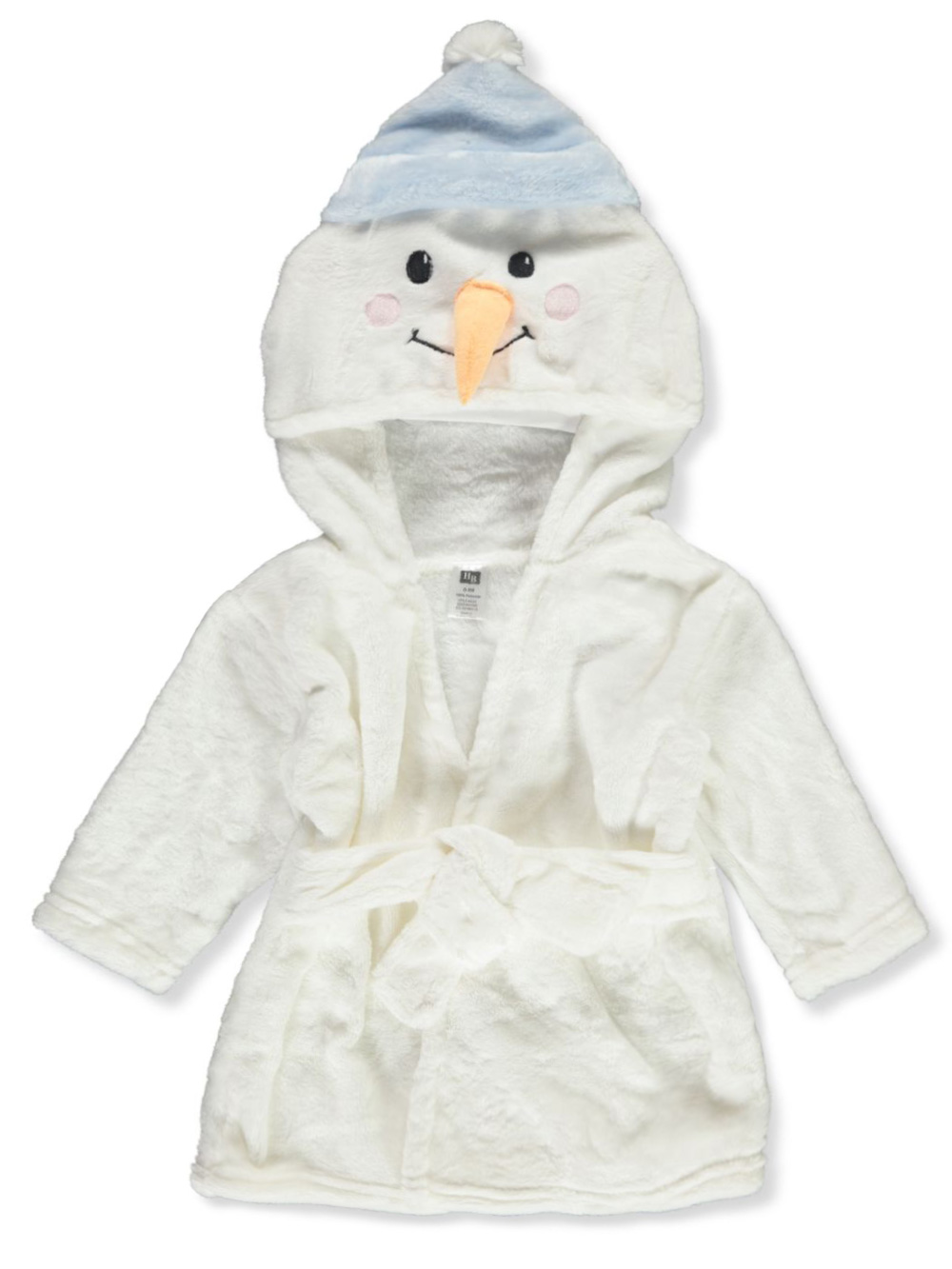 Pajamas Plush Hooded Bathrobe