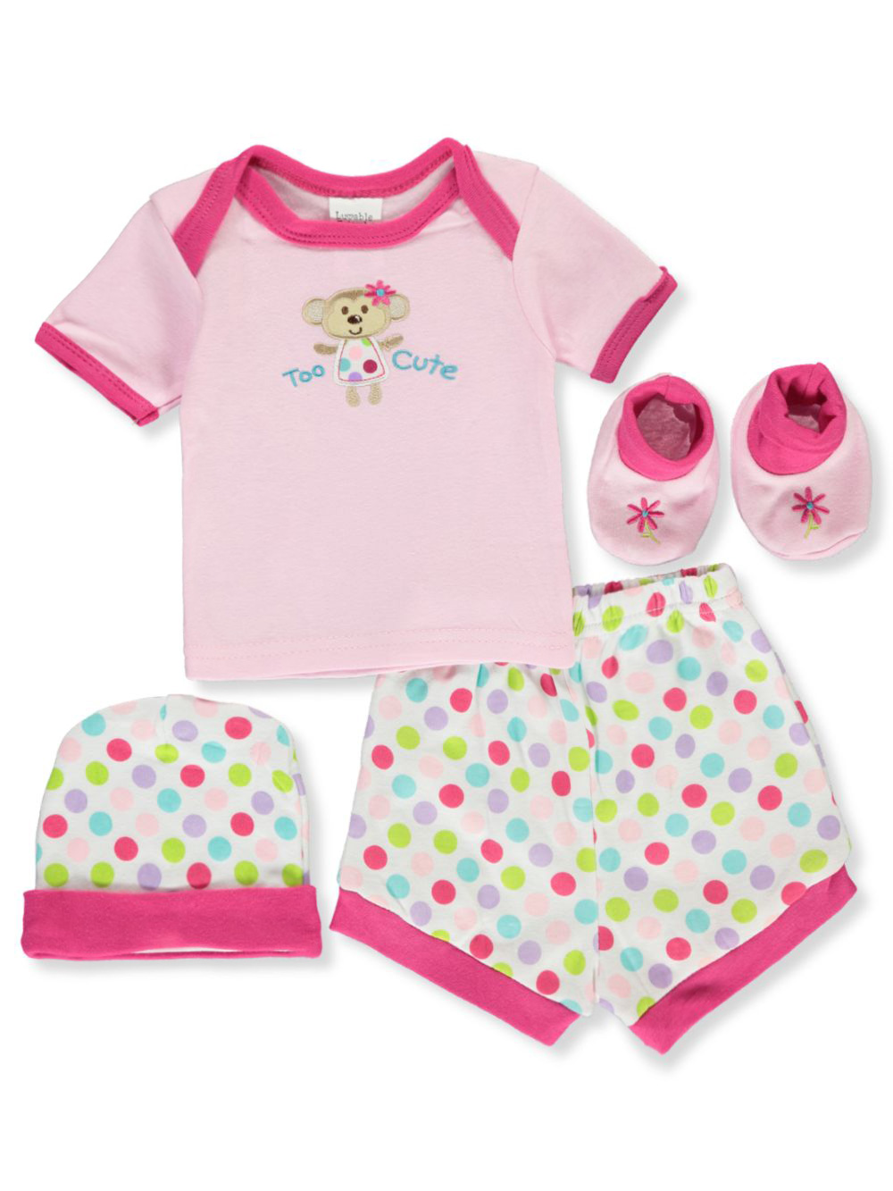 Gift Sets 4-Piece Playtime Layette Set