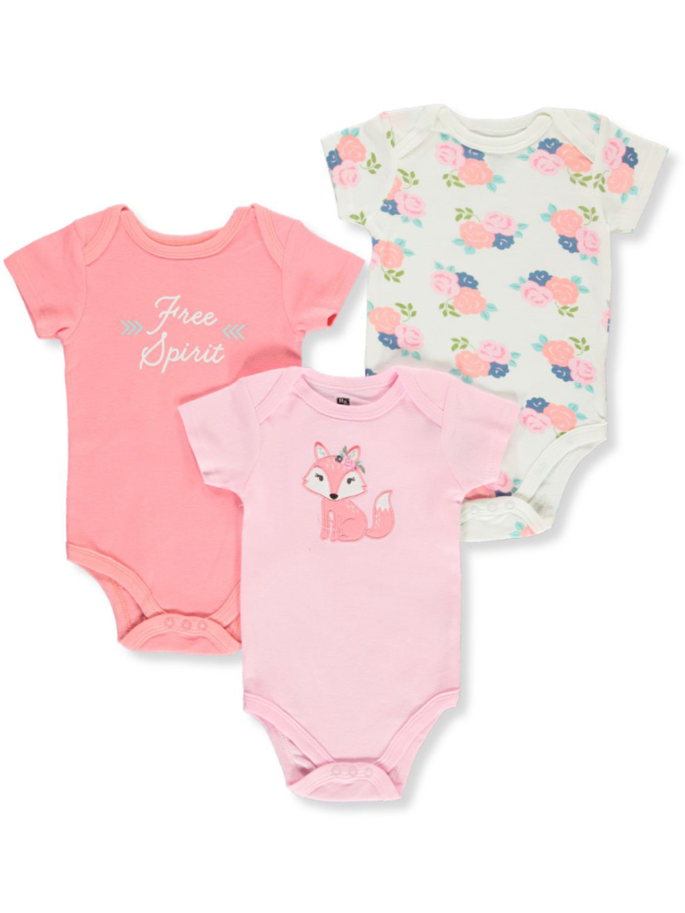 Bodysuits Hudson Baby 3-Pack