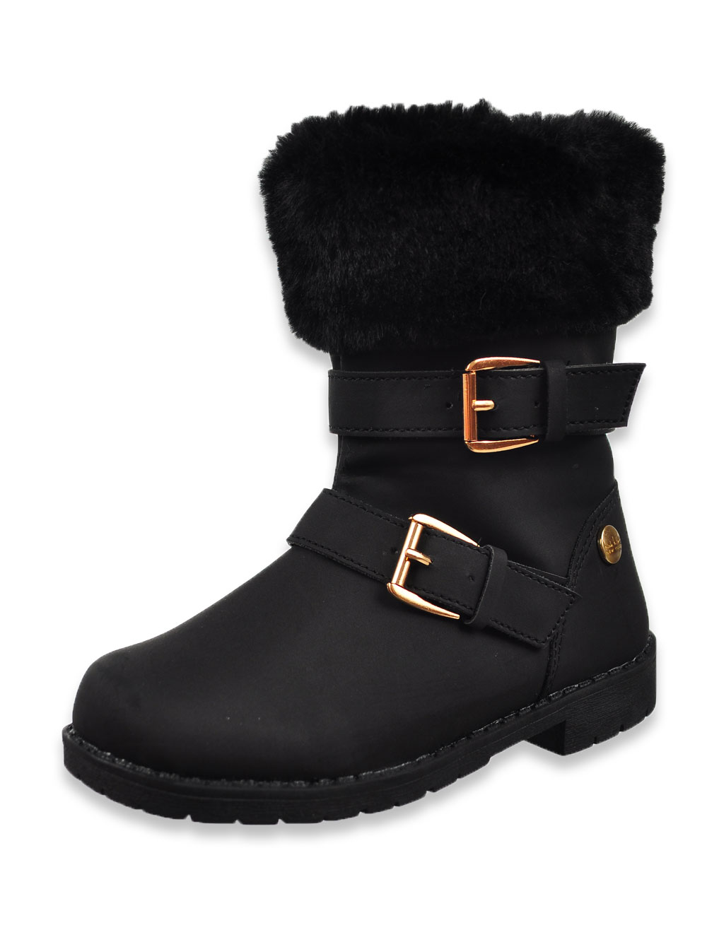 girls fur lined boots