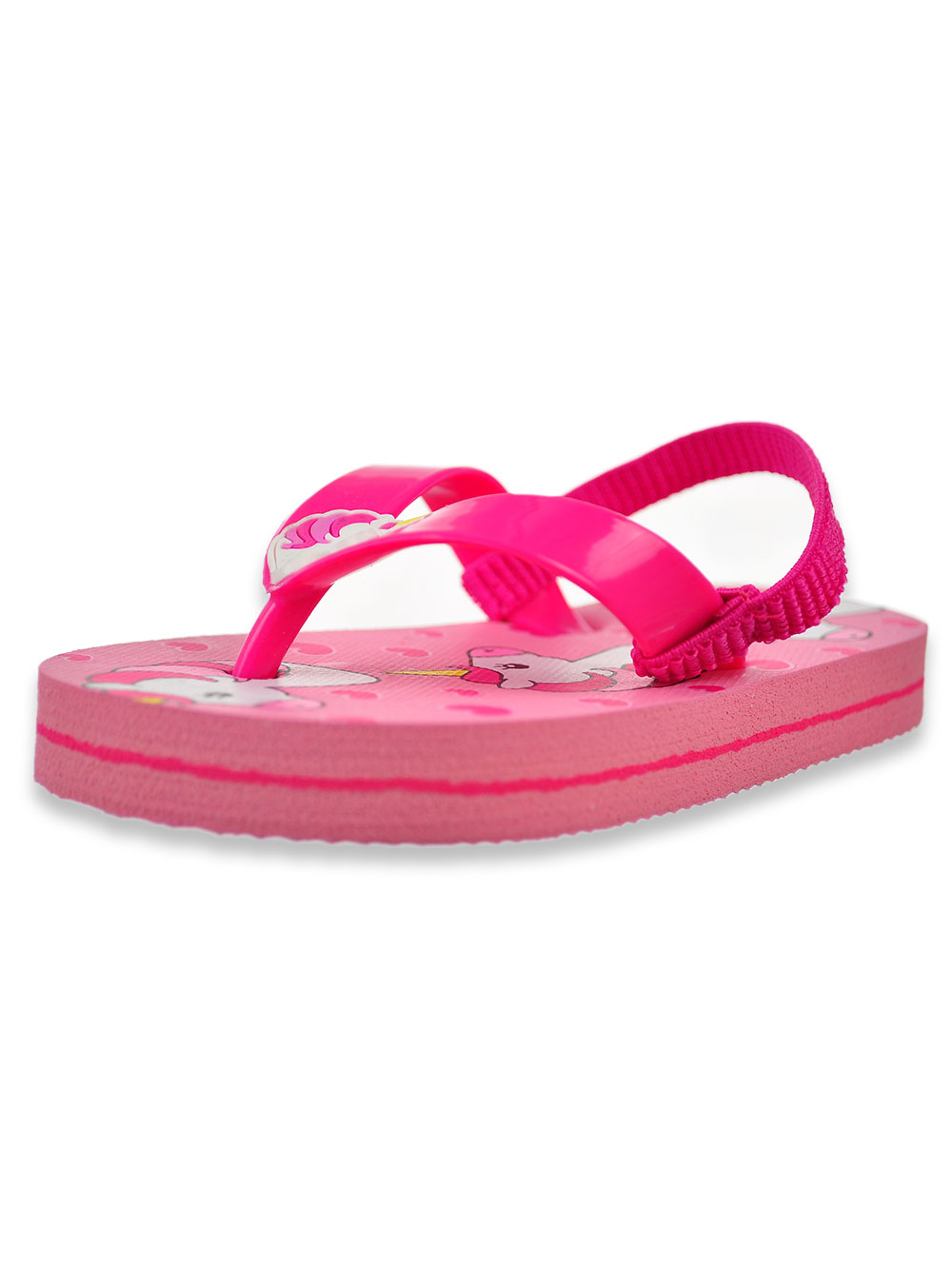 Girls Fuchsia Sandals