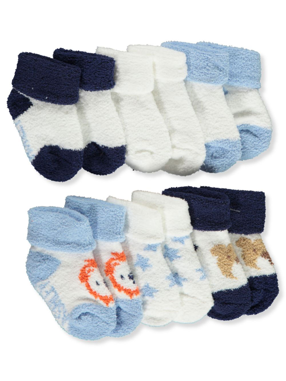 Baby Boys' 6-Pack Terry Socks