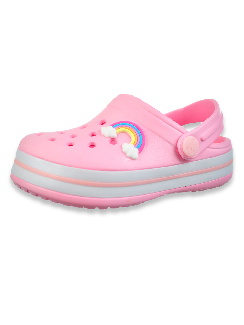 Baby Girls' Rainbow Cloud Clogs Shoes