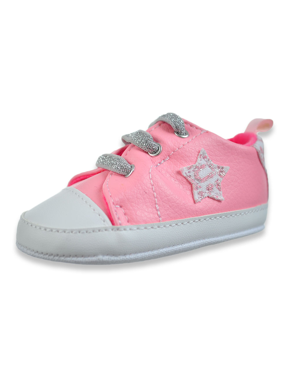 Girls Light Pink Sneakers and Booties