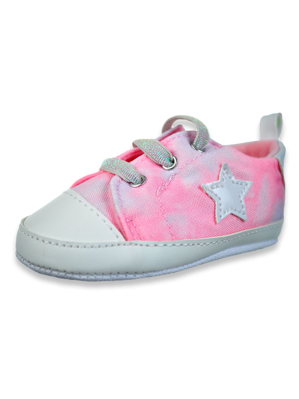 Girls Pink Sneakers and Booties