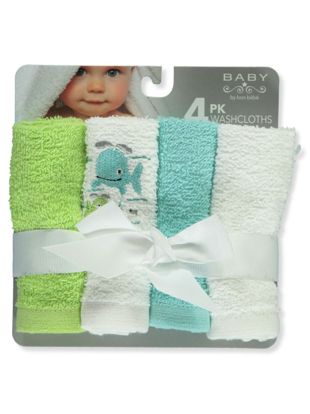 Green Washcloths