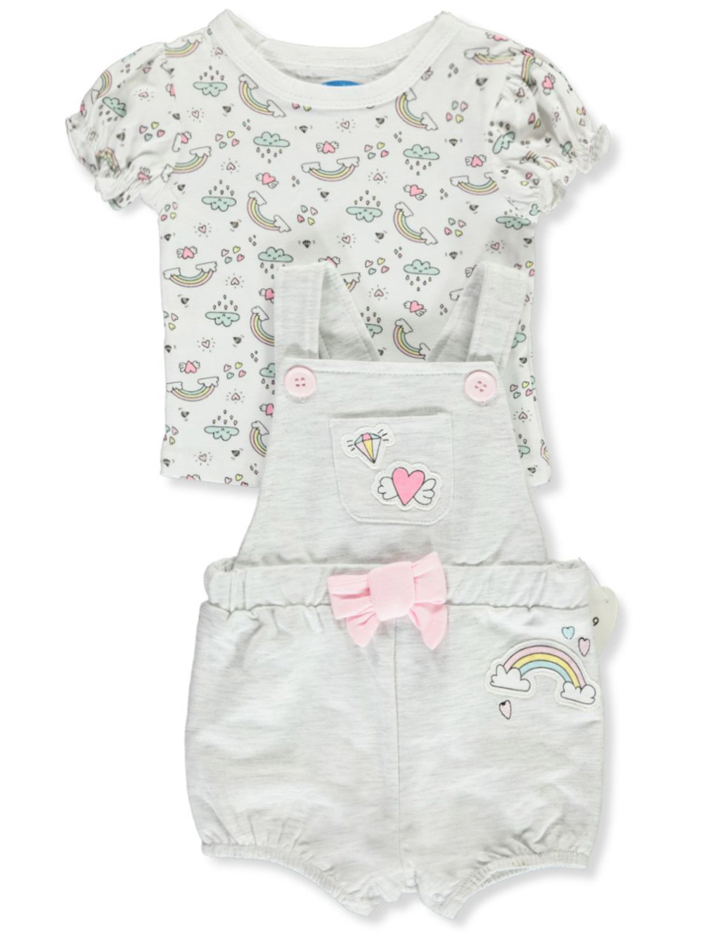 Girls Multicolor Overalls and Shortalls
