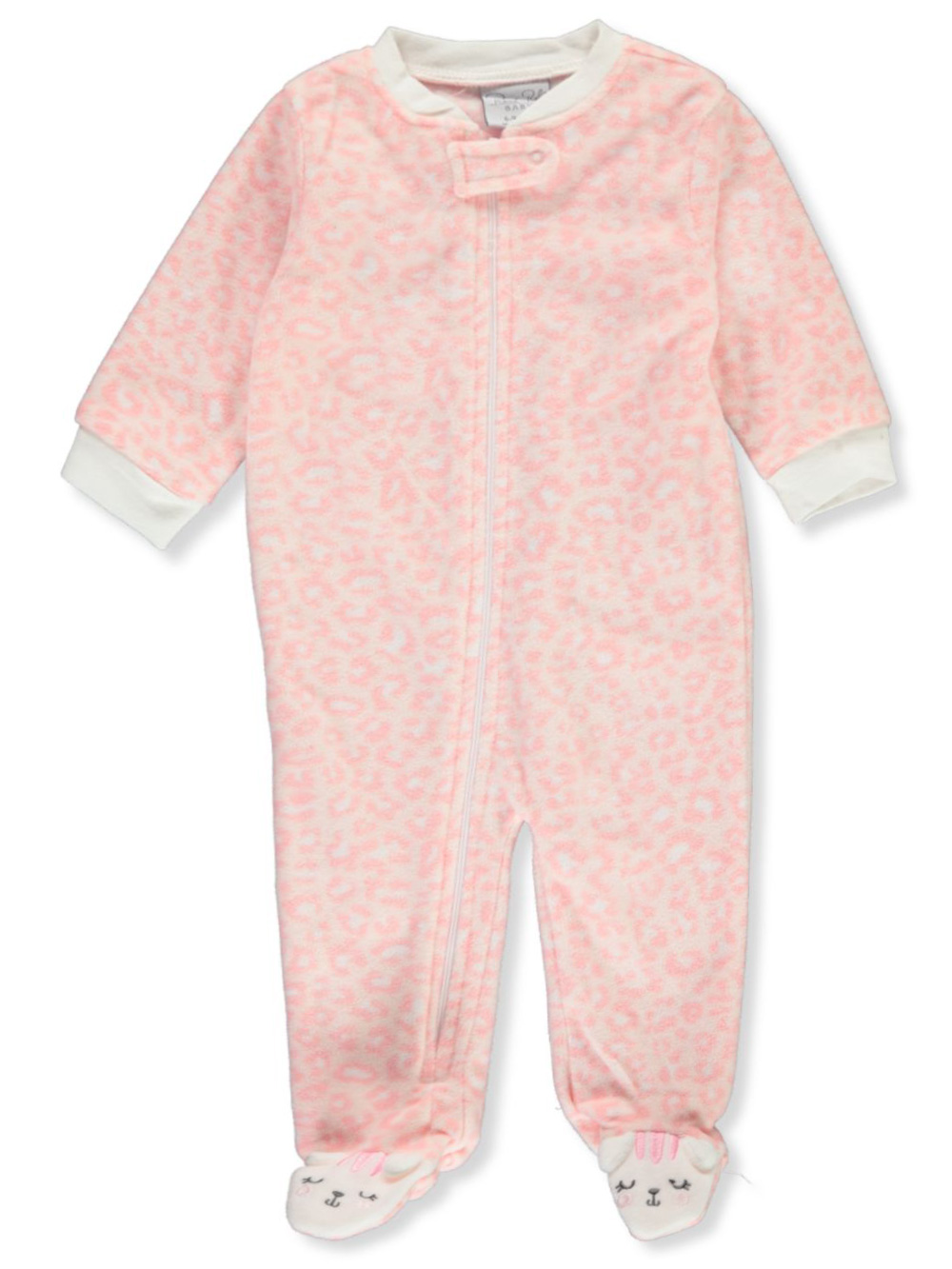 Coveralls Plush Footed Coverall