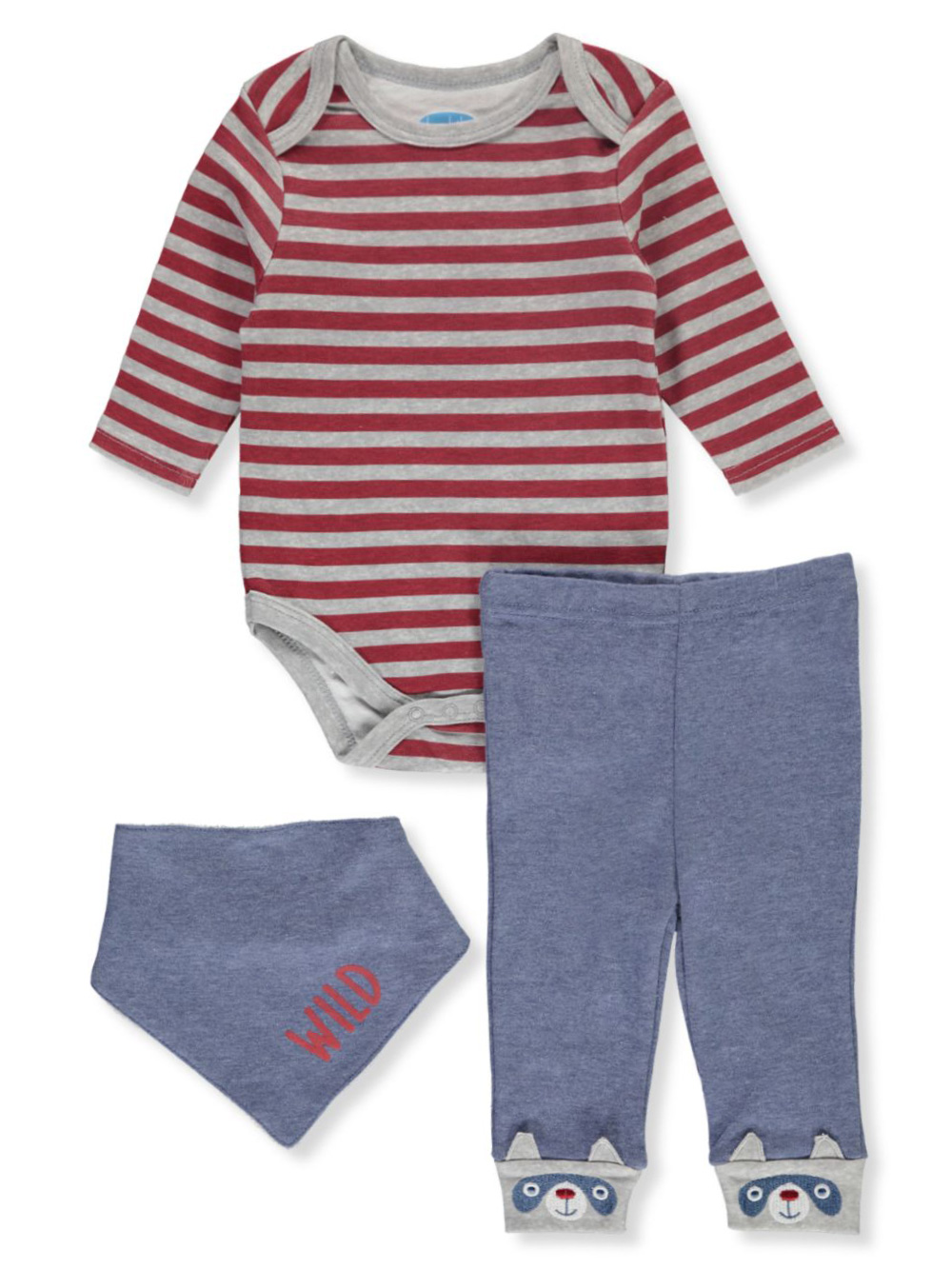 Wild 3-Piece Layette Set