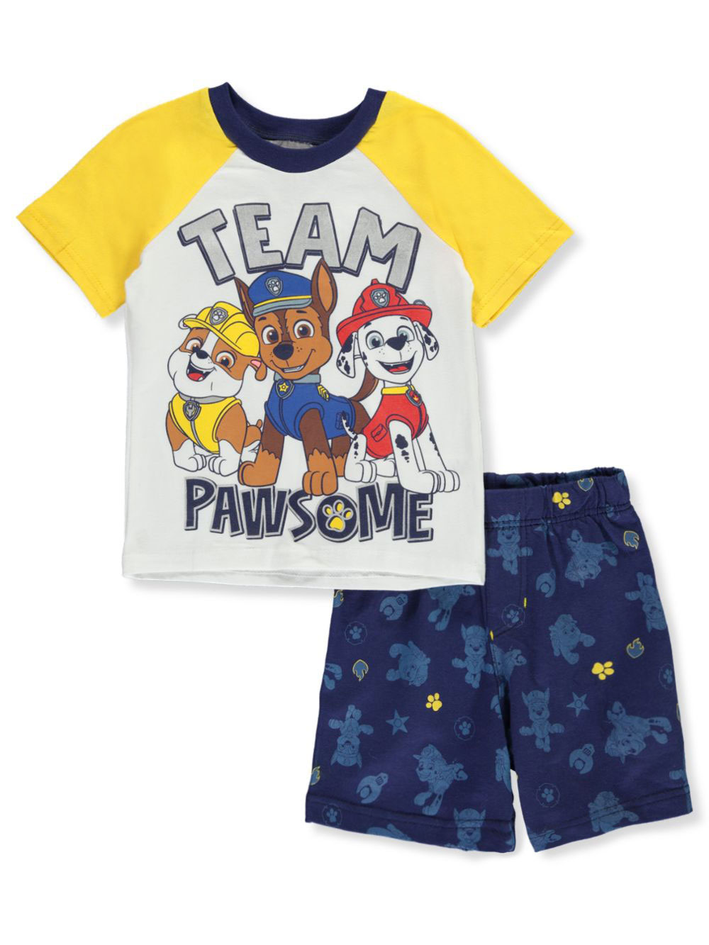 Paw Patrol Toddler Boys Graphic Tank Top and Shorts Outfit Size 4T NWT