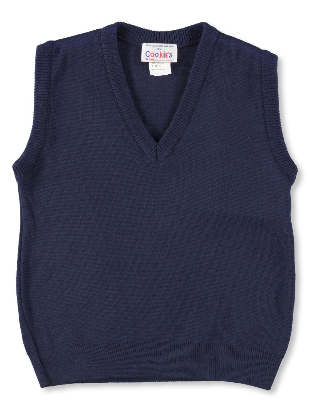 Girls Cookie's Brand Unisex V-Neck Sweater Vest (Sizes 4 - 7)