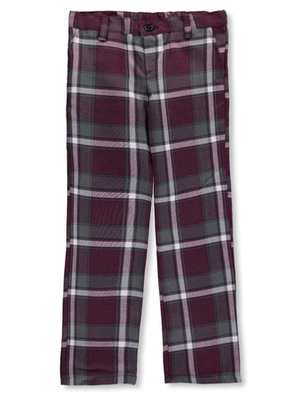 Girls Burgundy Pants