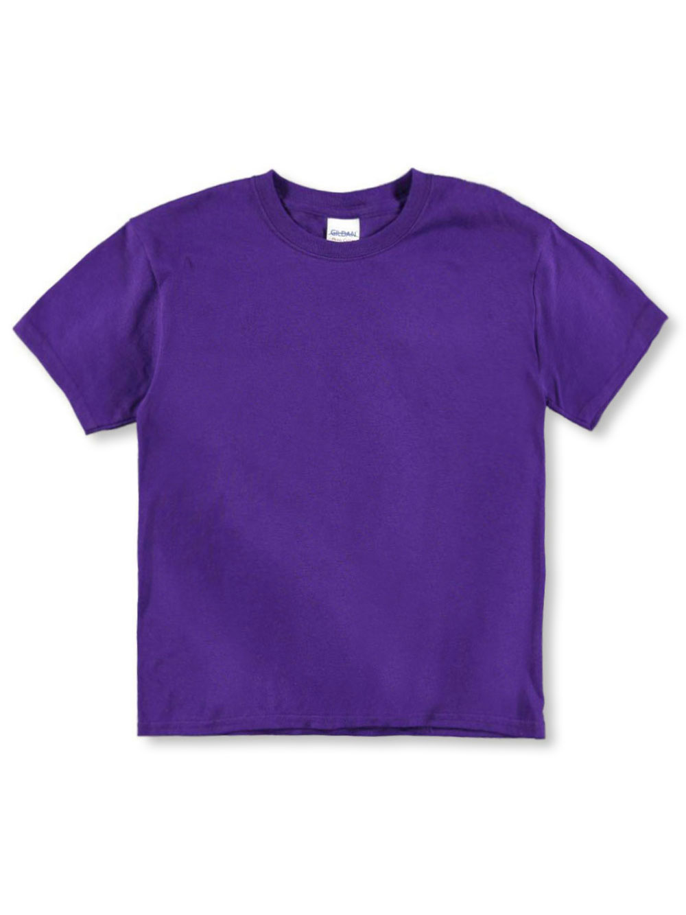 Image of Youth Short Sleeve Cotton TShirt  purple xl