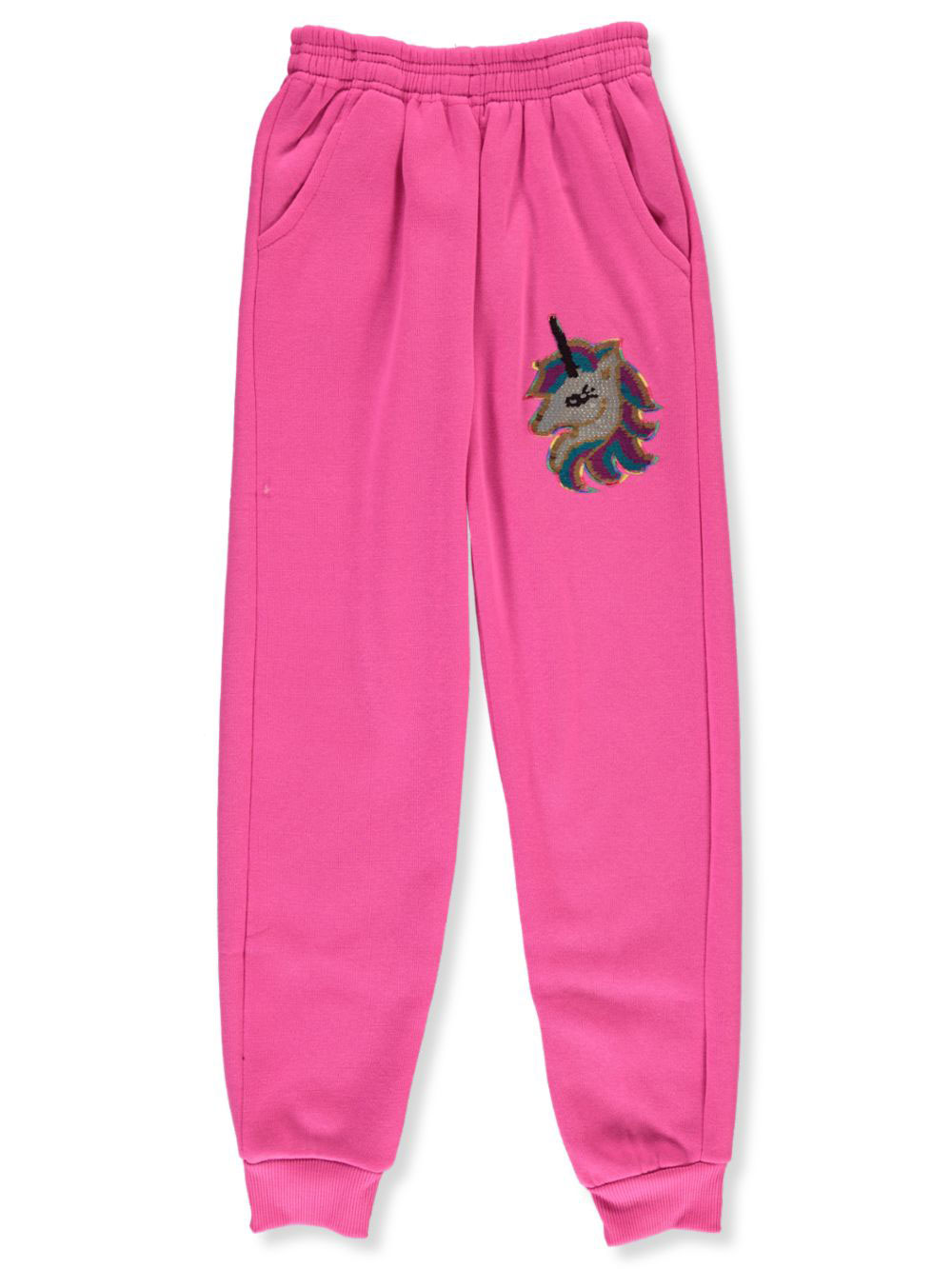 Girls' Flip Sequin Unicorn Joggers