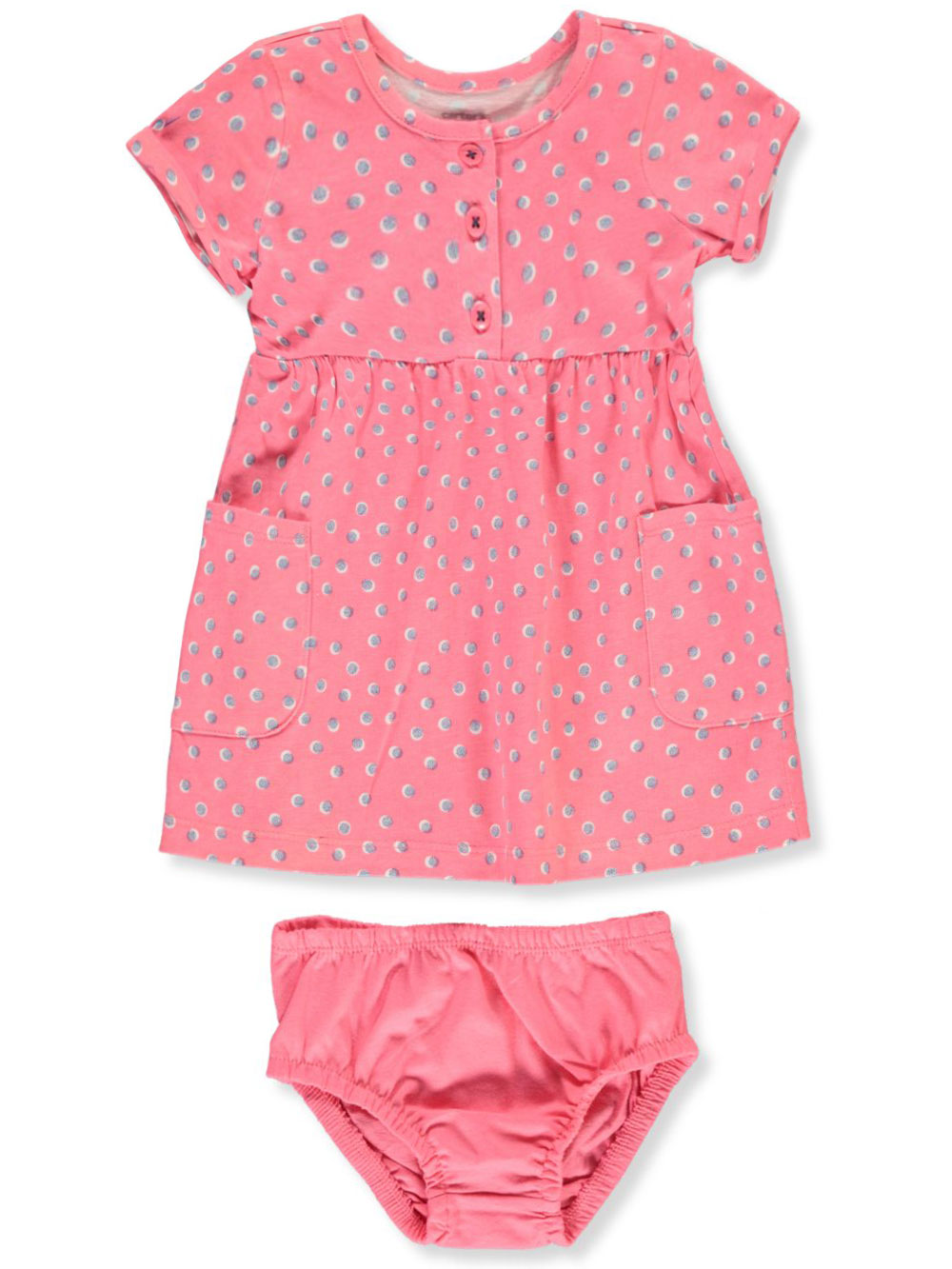 Girls' Dress With Diaper Cover