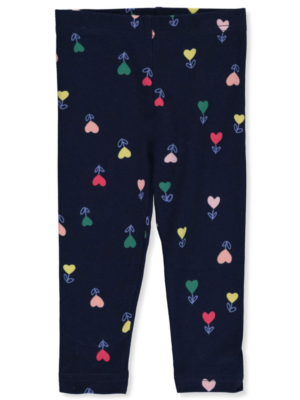 Girls' Tulip Heart Leggings
