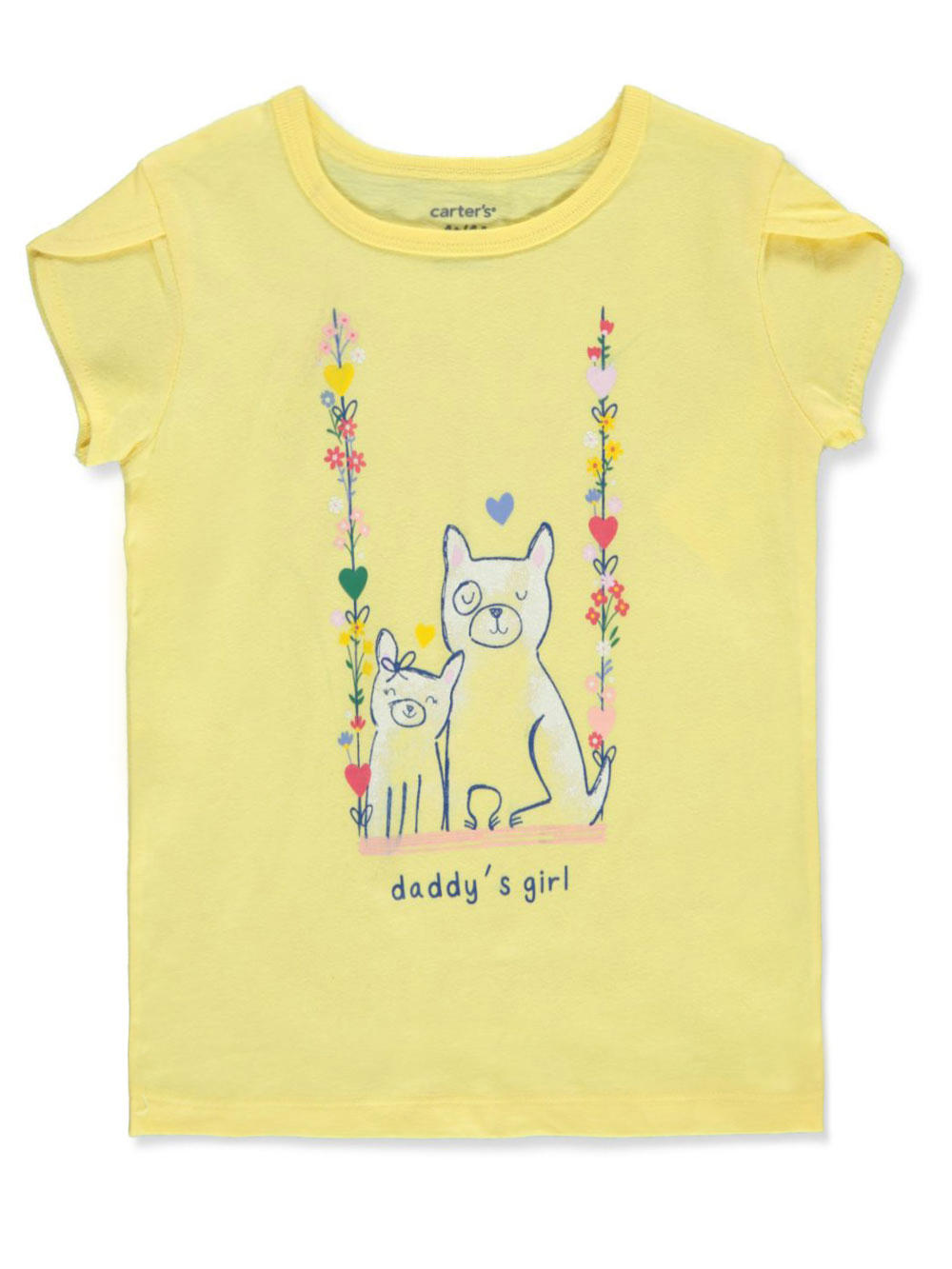 Girls Yellow T-Shirts
