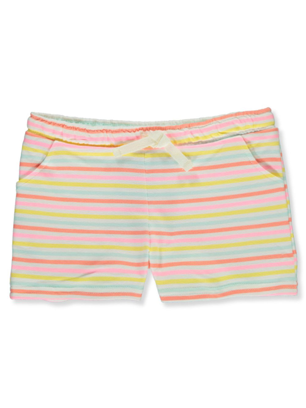 Girls' Striped Terry Shorts