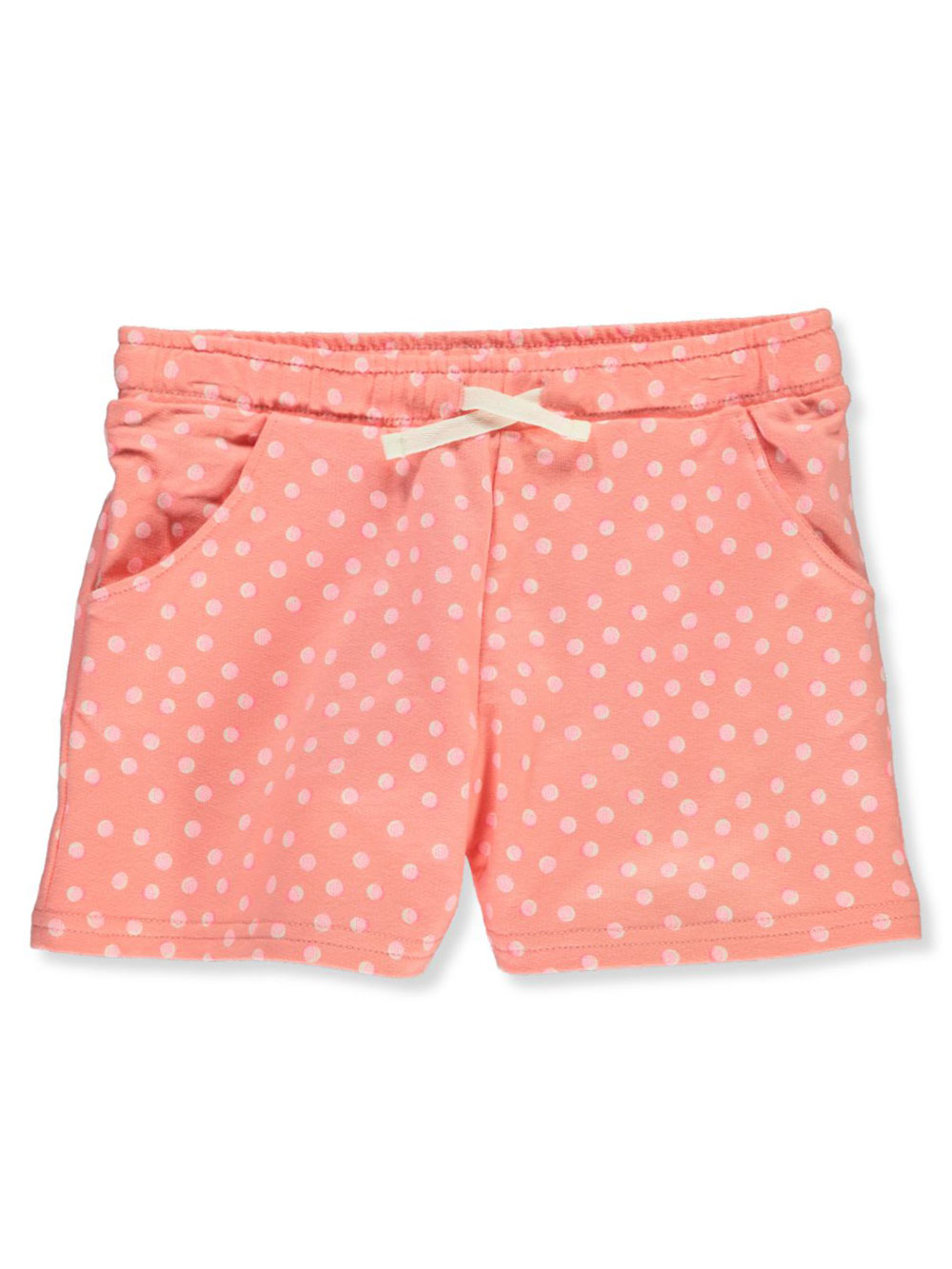 Girls' Polka Dot Terry Shorts