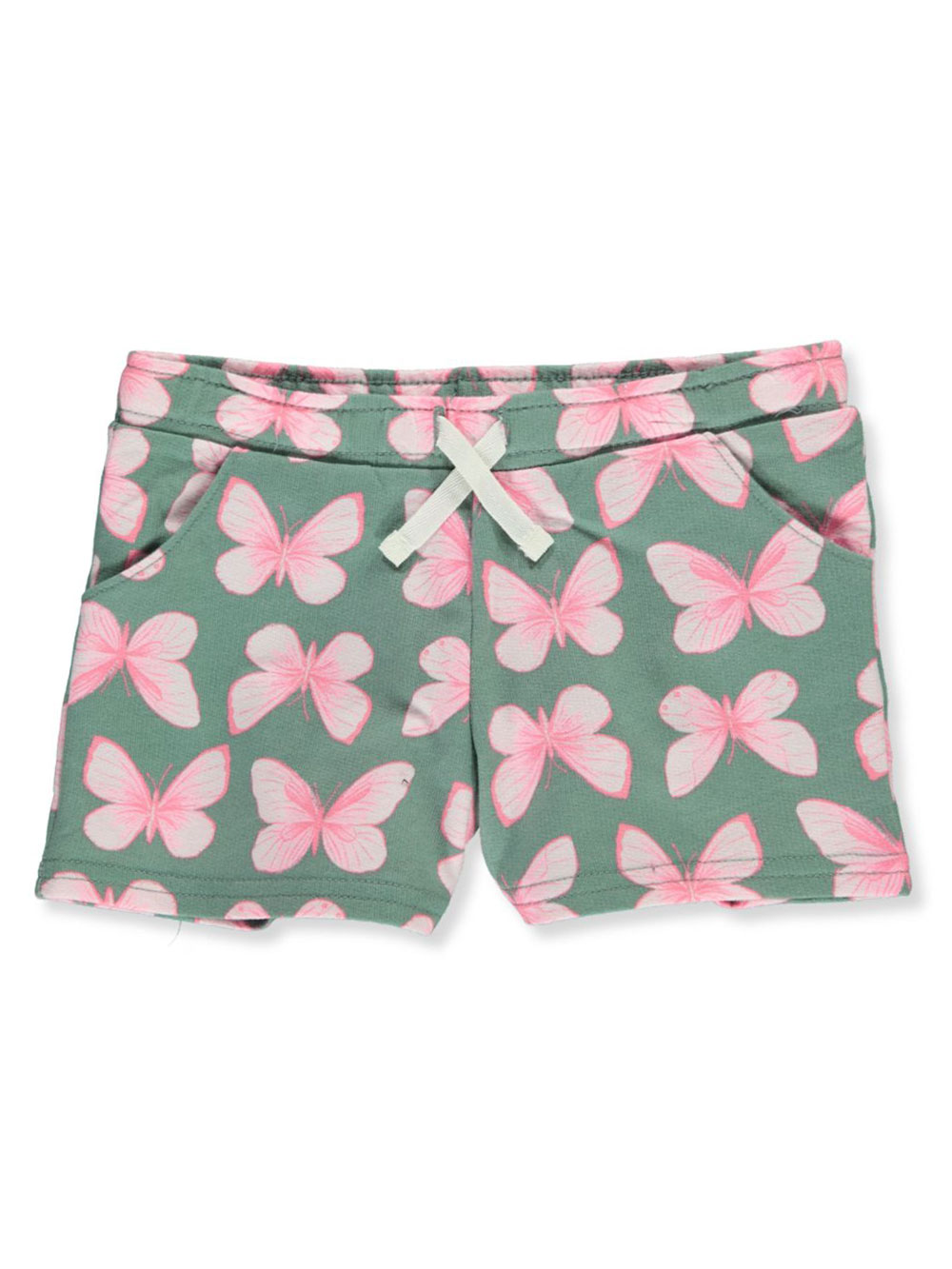 Girls' Butterfly Terry Shorts
