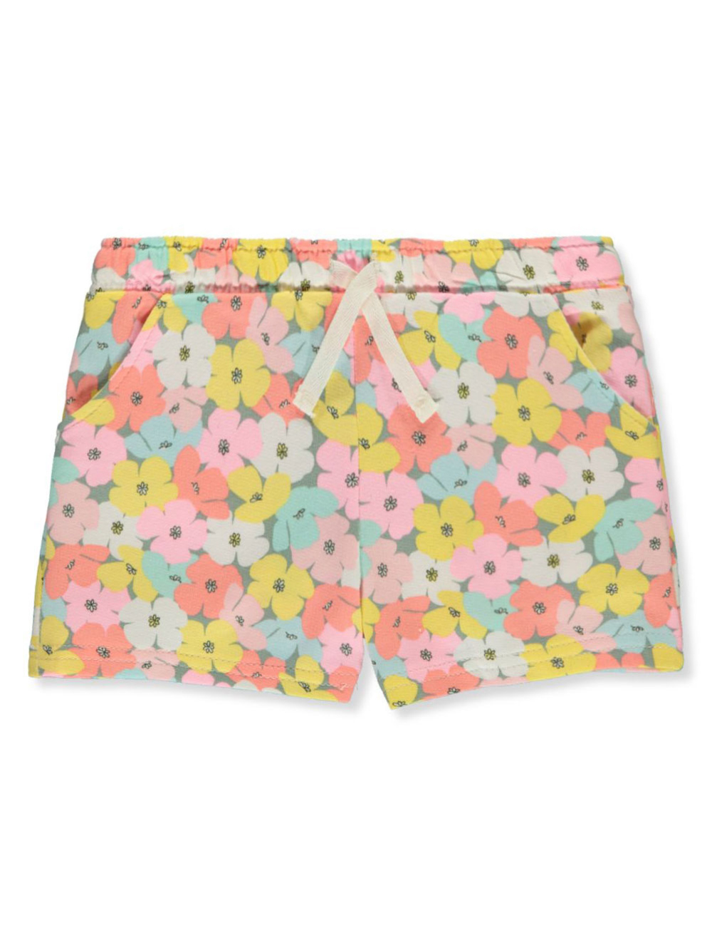 Girls' Floral Terry Shorts