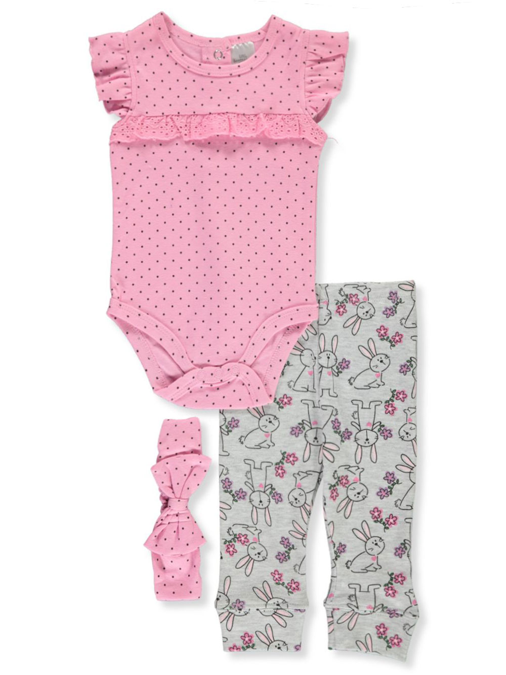 Bunny 3-Piece Layette Set