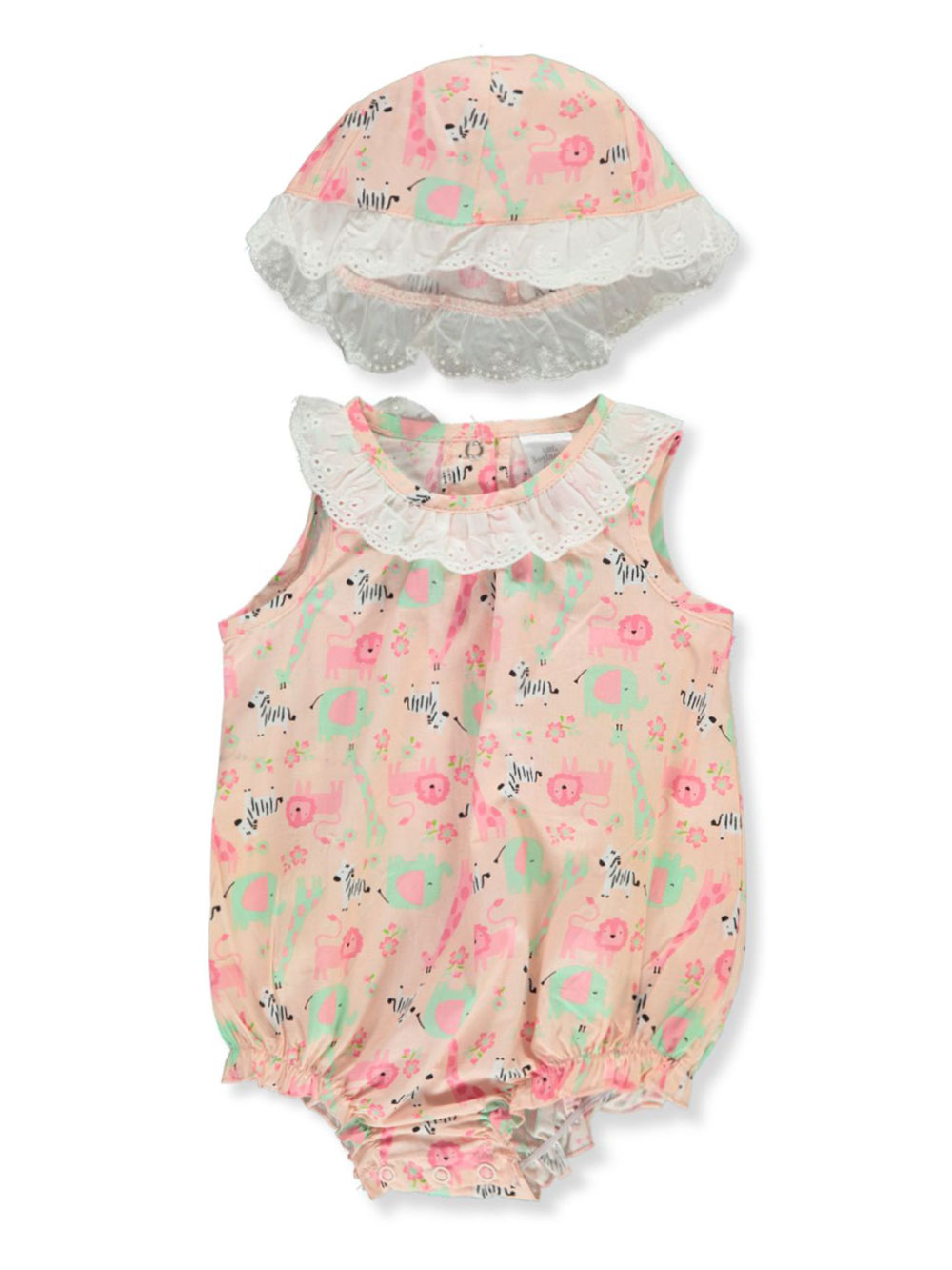 Girls Blush Rompers