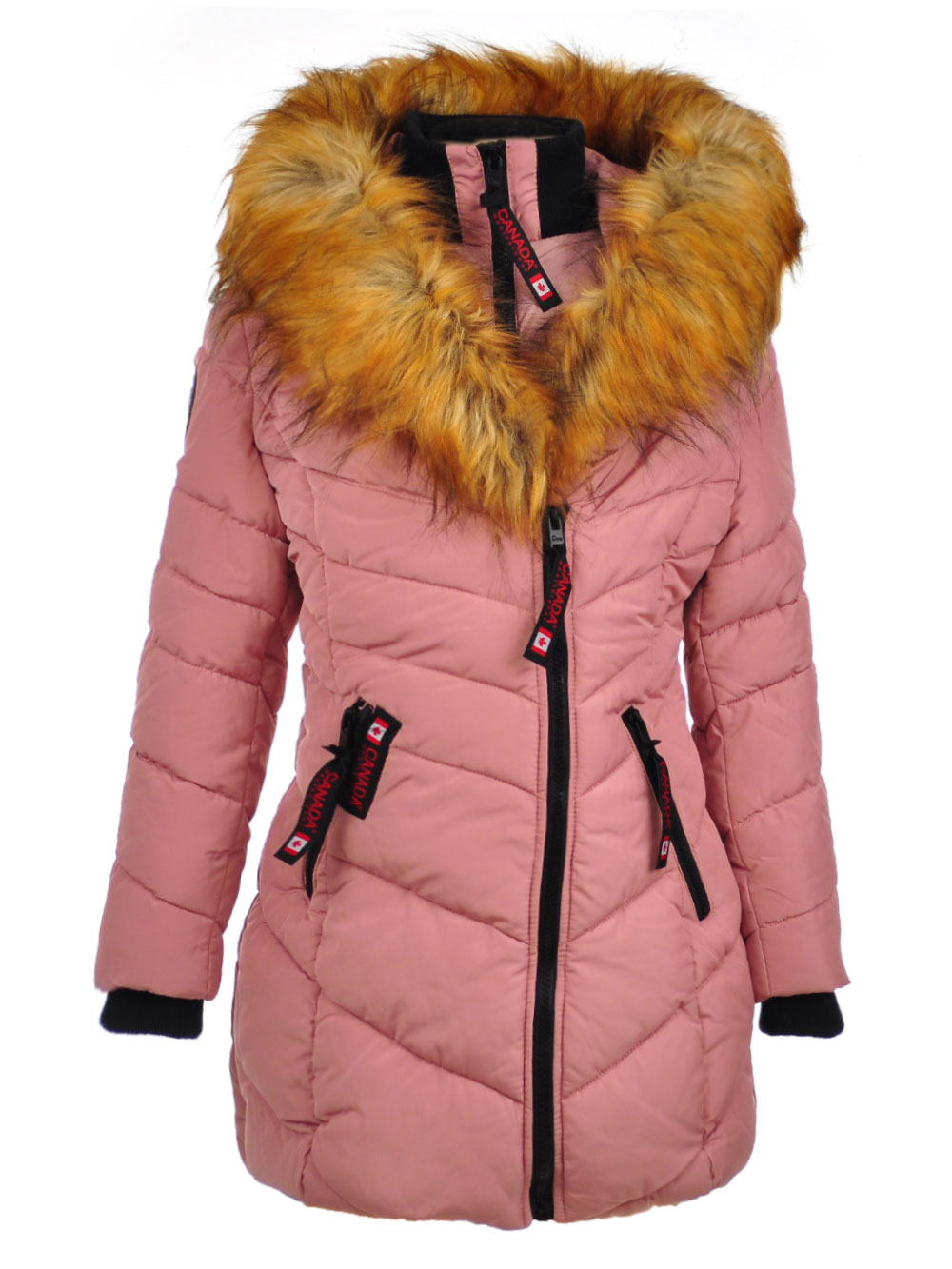 Girls Dusty Rose Jackets and Coats