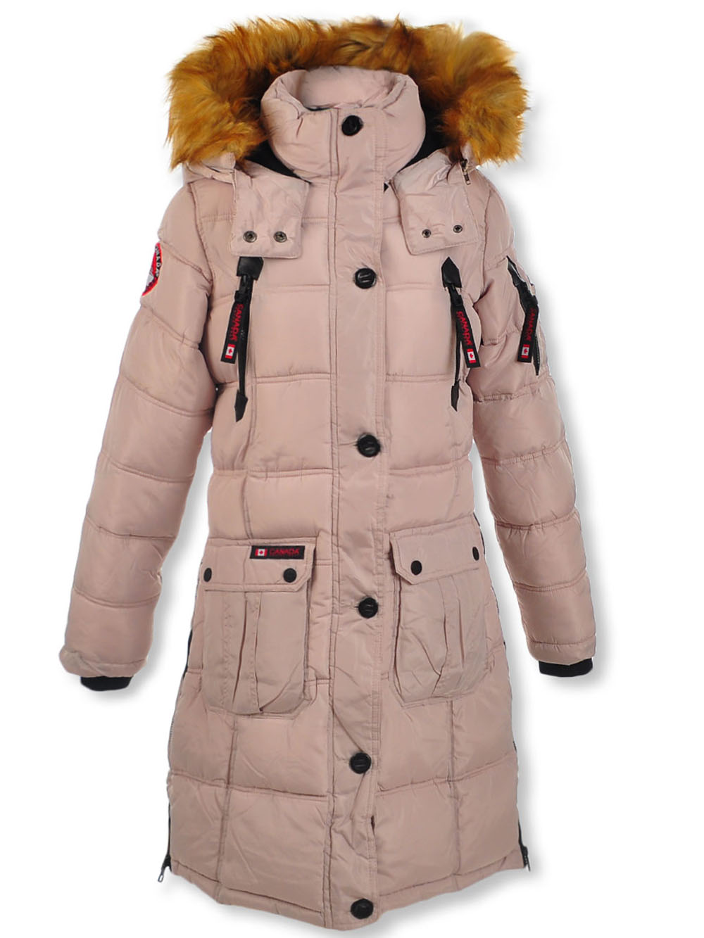 Girls Sand Jackets and Coats