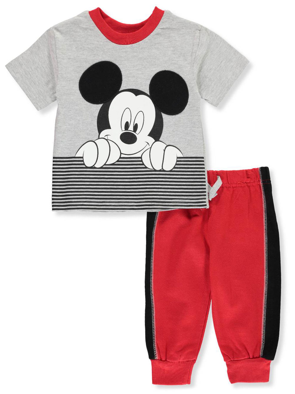 7c19cd4e90 Mickey Mouse 2-Piece Pants Set Outfit by Disney in Gray/red from Cookie's  Kids