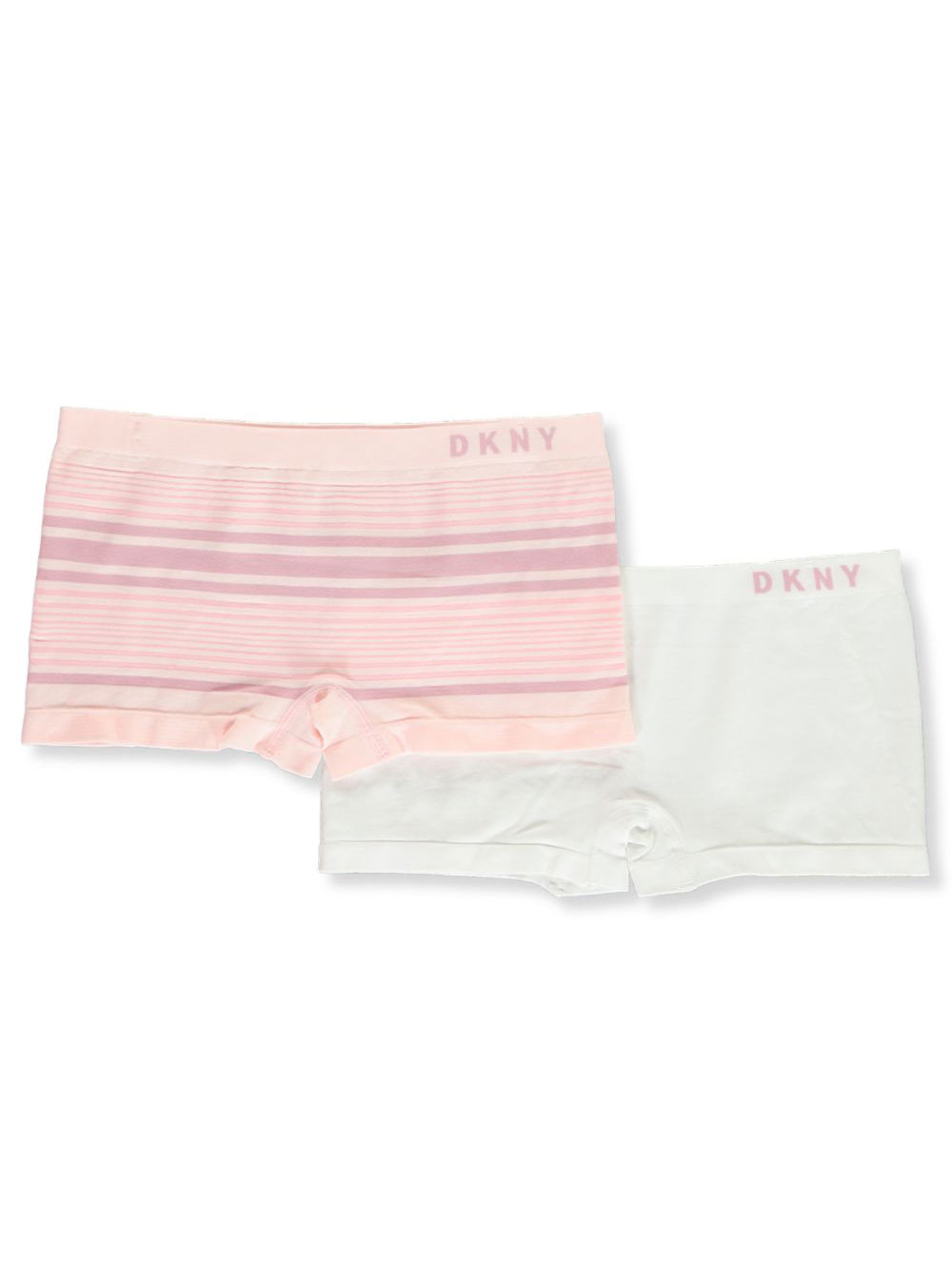 Girls' 2-Pack Seamless Boy Shorts