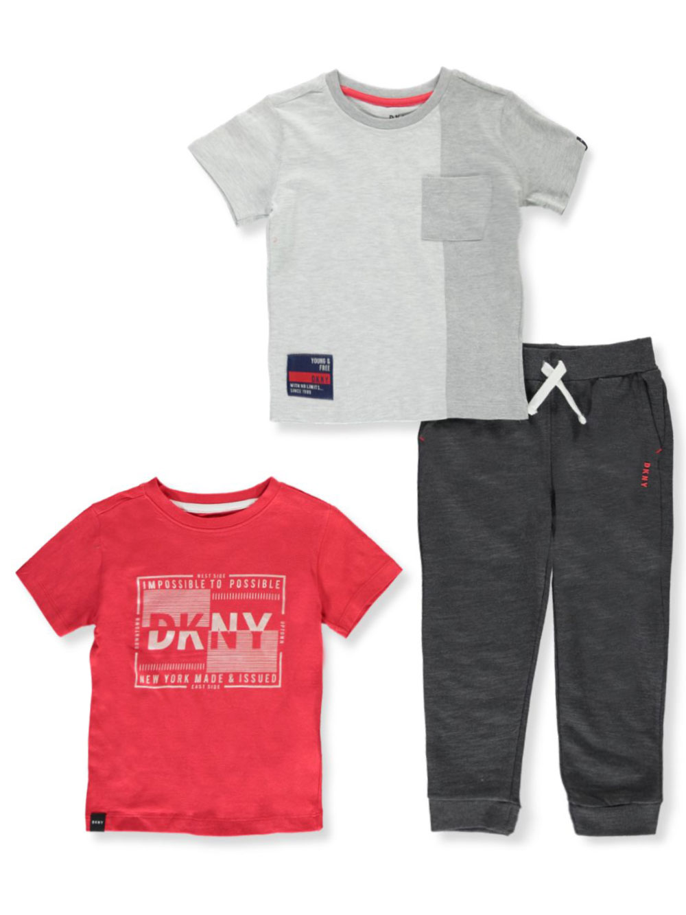 Boys' 3-Piece Joggers Set Outfit