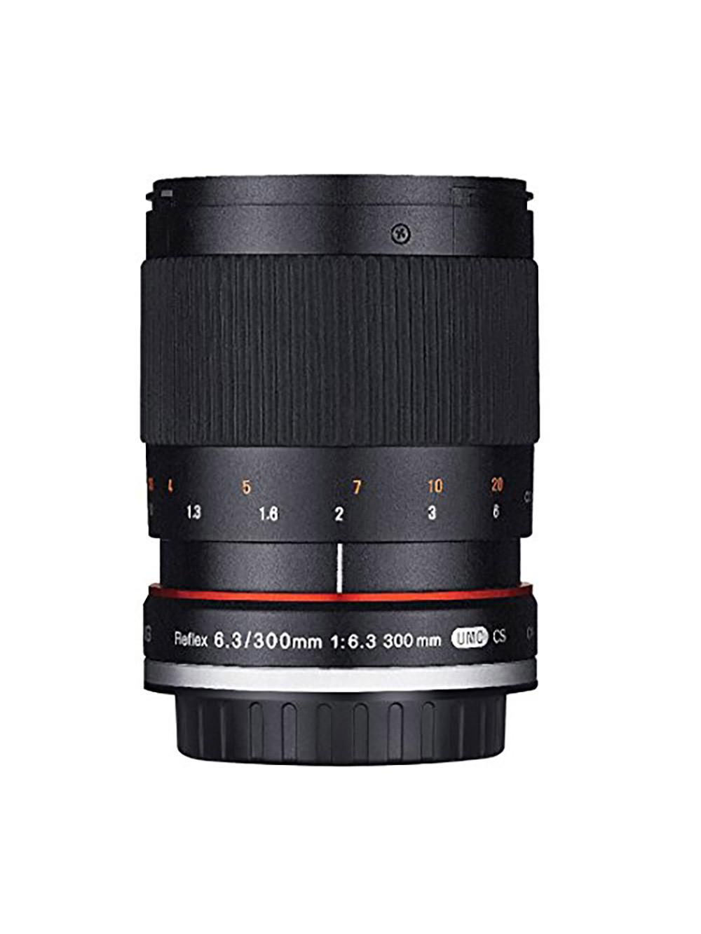 Samyang SY300M-FX-S 300mm F6.3 Mirror Lens for Fuji X Mirrorless Interchangeable Lens Cameras