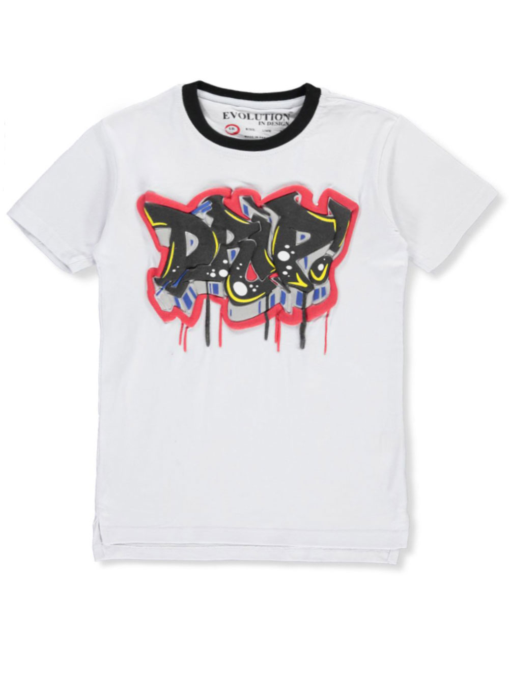 Boys Black and White T-Shirts