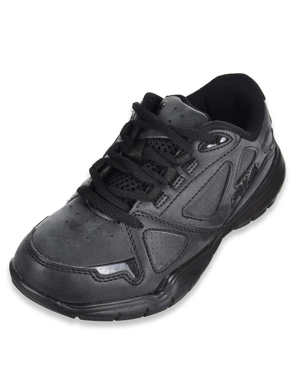 Boys' Side By Side Sneakers by Fila in Black