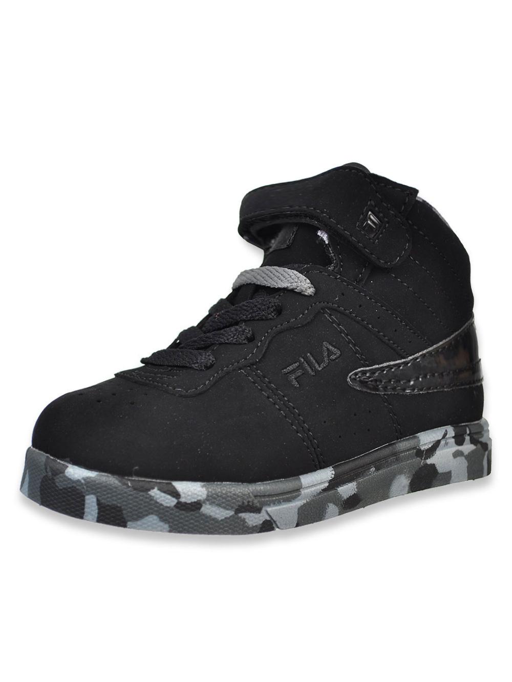 65989e57398 Fila Boys  Vulc 13 Mashup Hi-Top Sneakers (Sizes 6 – 10)