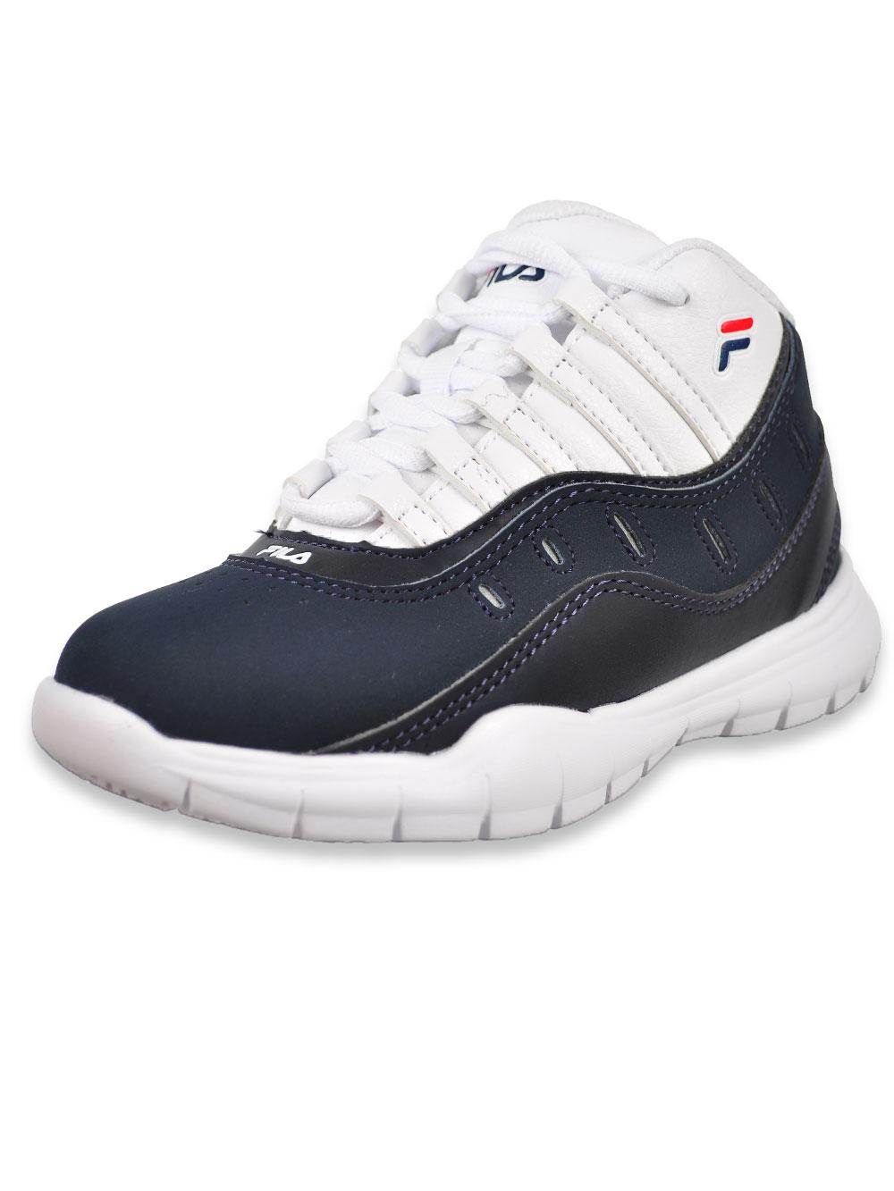 Fila Boys' All City Hi Top Sneakers (Sizes 11 – 5)