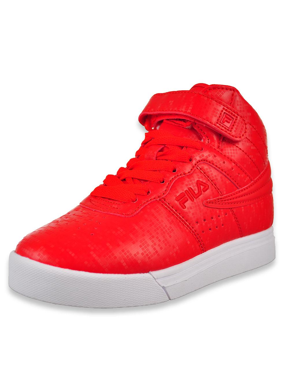Fila Boys' VULC 13 Digital Hi Top Sneakers (Sizes 11 – 7)