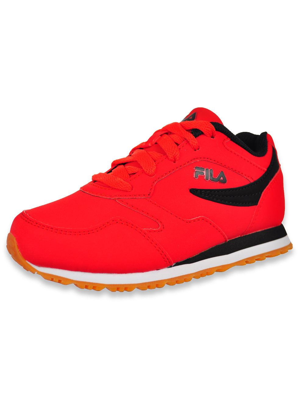 Boys' Classico FB Sneakers by Fila in Redblackwhite