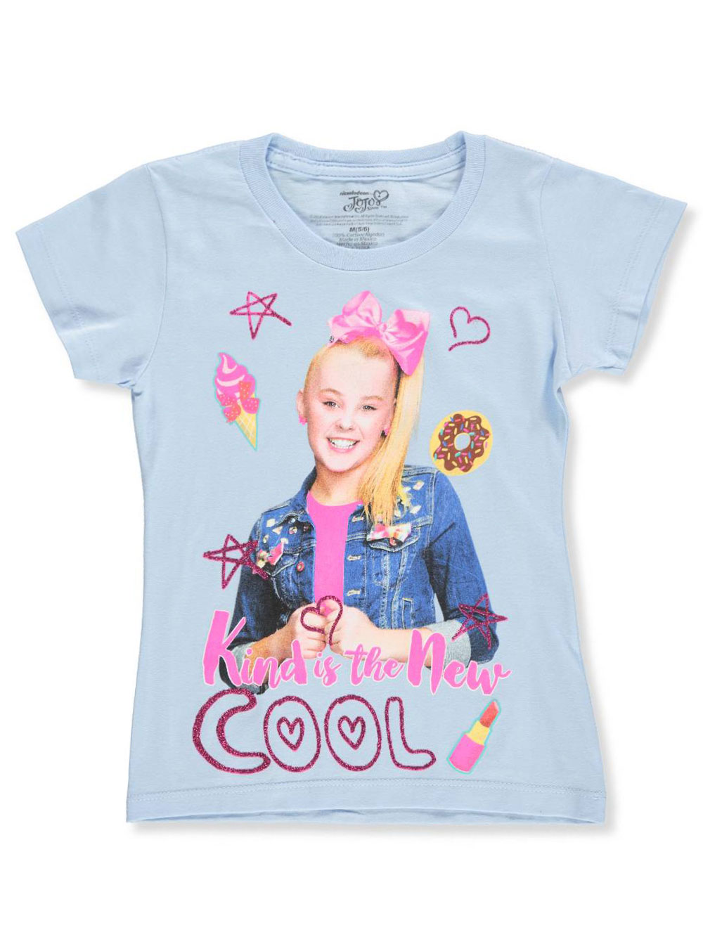 Girls Blue T-Shirts