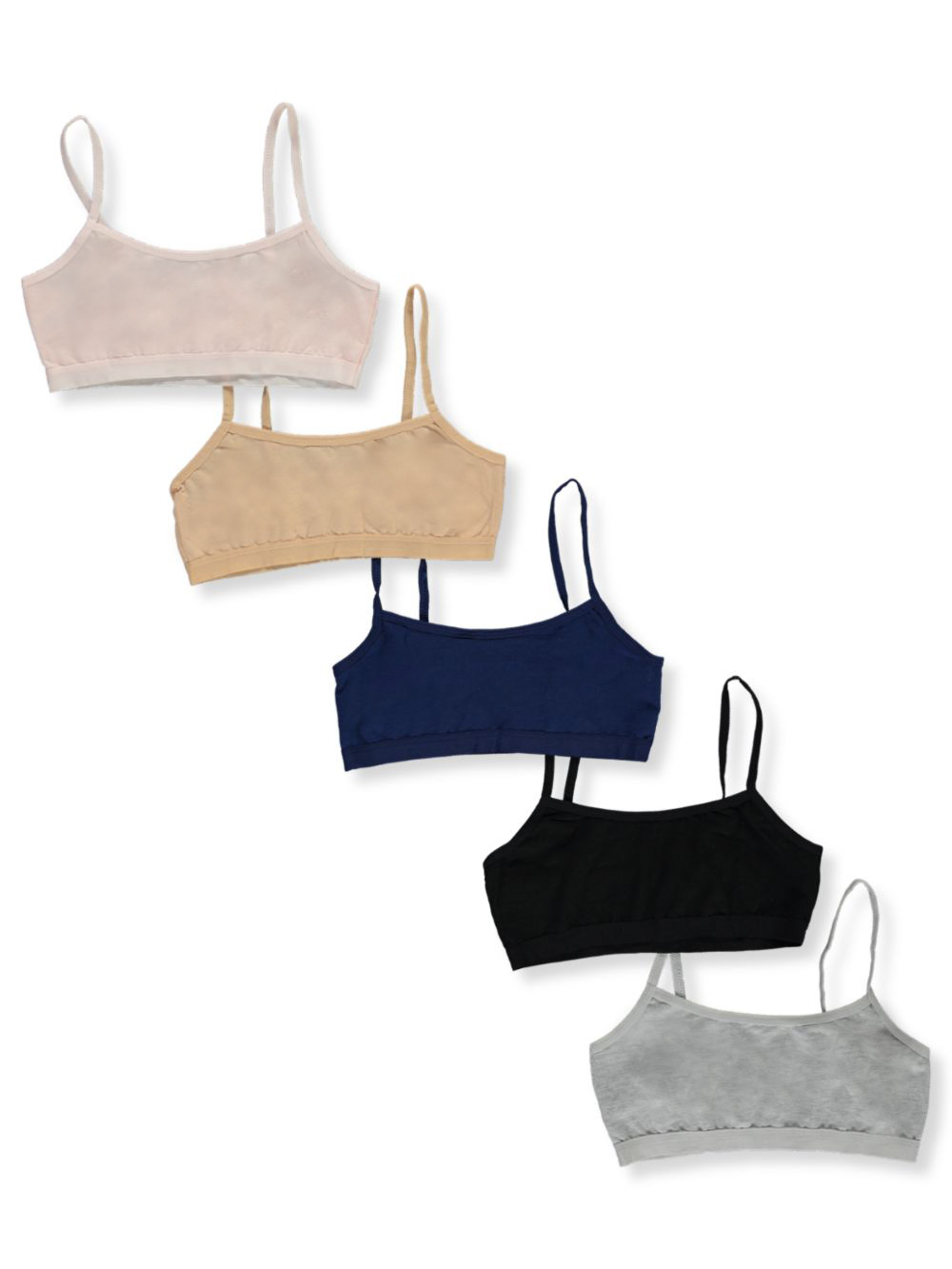 Training Bras 5-Pack Sports Bras