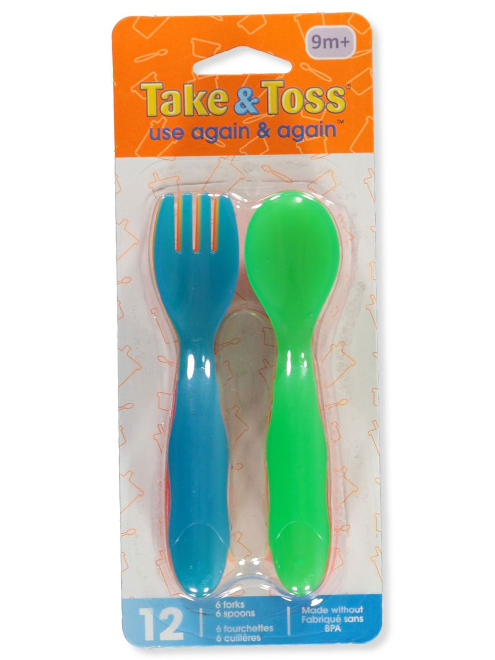Take and Toss Dishes and Utensils