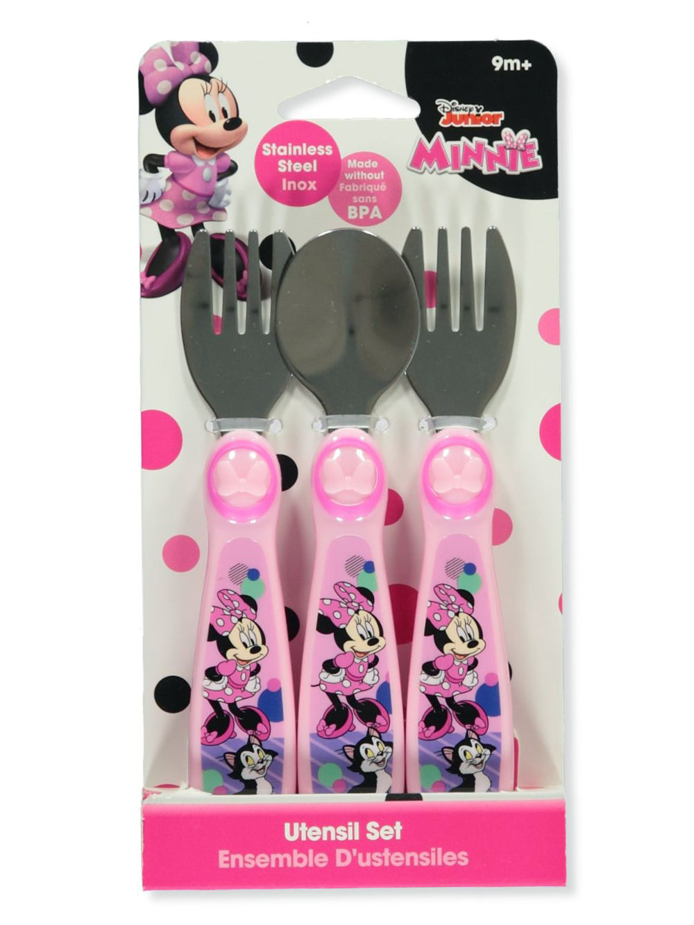 Pink Dishes and Utensils